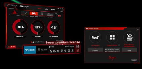 爽玩游戏必备 华硕GTX1060 9GBPS游戏显卡