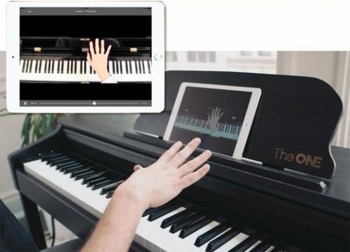 独创智能跟灯模式 the one智能钢琴热卖