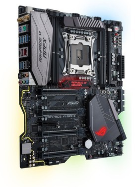 X299超频神器!华硕发布Rampage VI Apex主板