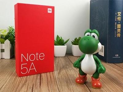 可以插三张卡 红米Note5A泉州售899元