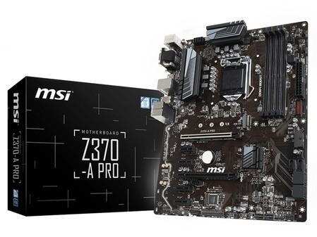 0高效能音频微星Z370A-PRO重庆售1399