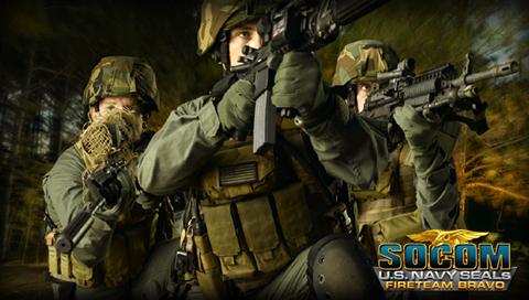 《海豹突击队》系列PSP壁纸