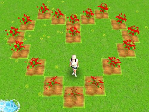 《人生OL》玩家创意种植大比拼