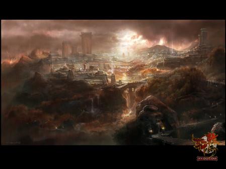 古战场《轩辕传奇》全新高精原画放出-中关村在线