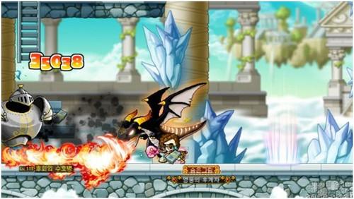 《驯龙高手》网游演绎 冒险岛新职业龙神