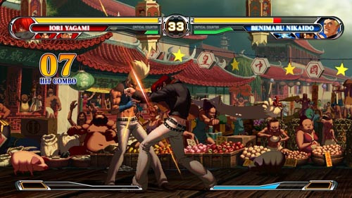 《拳皇世界》流派技能揭密 八神紫色