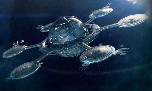 游戏 正文  星际迷航中的企业号 起帆远航,也总有归港的一天.
