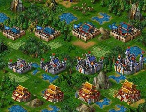 诺诺游戏《幻想三国》打造日不落黄金城
