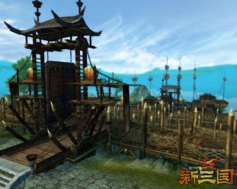 多图直击《赤壁·新三国》赤壁水战工事