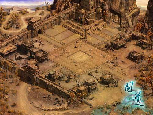 《问道》跨服战 战场地图