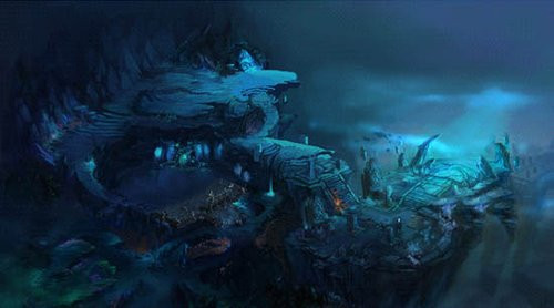 《传奇世界》海底下篇 全新场景boss揭秘
