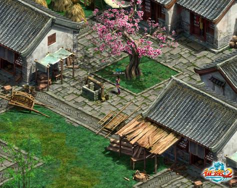 《征途2》中国风建筑营造完美武侠世界