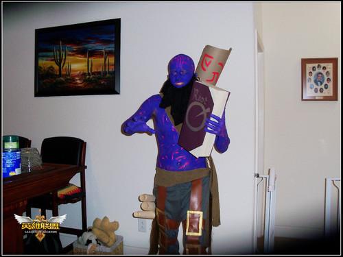 搞怪万圣节 英雄联盟 美服玩家恶搞COS