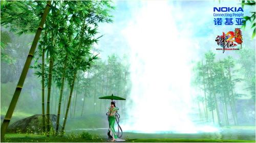 《诛仙2》诺基亚手机壁纸设计大赛作品赏