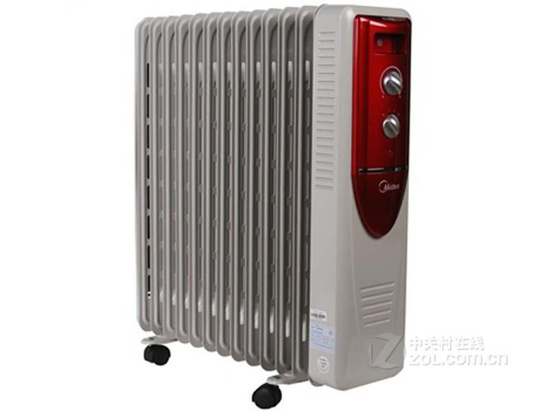 美的油汀式电暖气 ny18ck-10 赠晾衣架