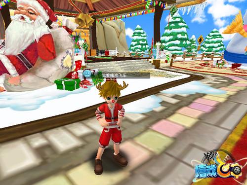 《嬉戏飞车》圣诞派对开启 不狂欢不成活