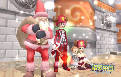 打麋鹿集火柴棒《精灵乐章》圣诞欢乐周