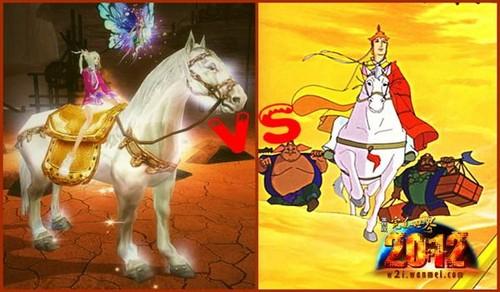 由此可见,骑白马不一定是王子,也不一定是唐僧,很可能是《完美世界