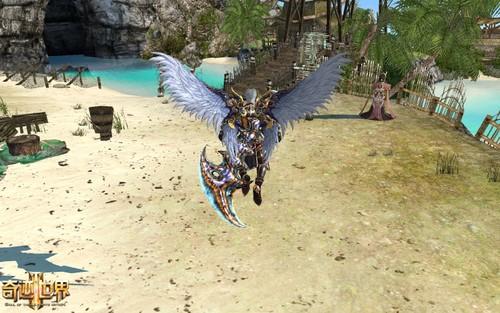 《奇迹世界2》6月首测 华美之翼优雅绽放
