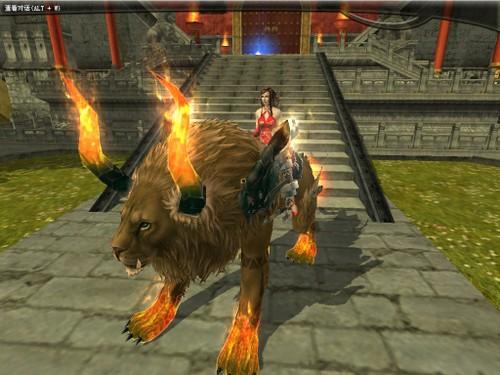 《王者世界》中国风暗黑狮蝎威临天下