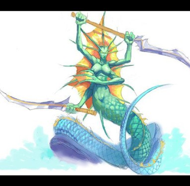 dota还是武侠《剑雨OL》侍从串串烧
