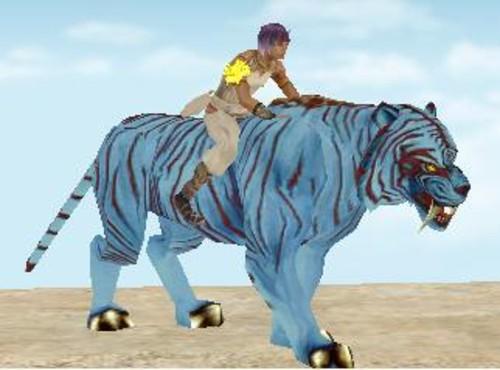 》5款老虎坐骑秀