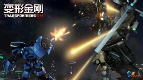 在《变形金刚在线》中,混天豹将由悍马,坦克,直升飞机,战斗机,导弹车