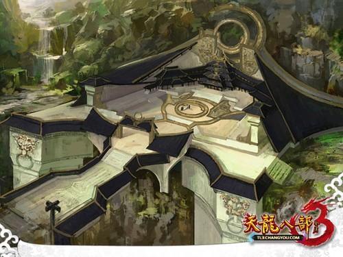 在目前内部测试版本的《天龙八部3》中对技能基本属性的改...