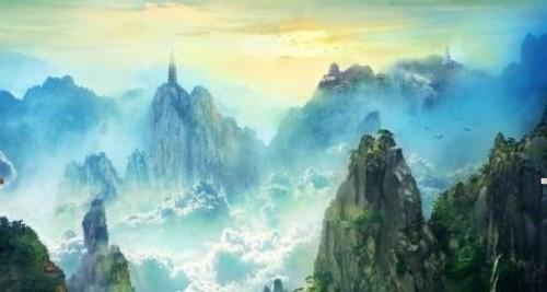 仙侠水墨画风景