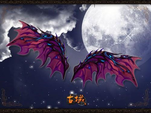 天使or恶魔 《古域》翅膀原画超带感