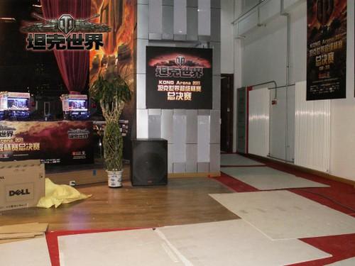 《坦克世界》超级杯总决赛之场馆布置