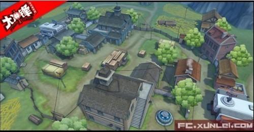 《大冲锋》地图介绍