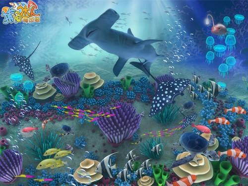 来《捕鱼达人》看深海鱼群cosplay