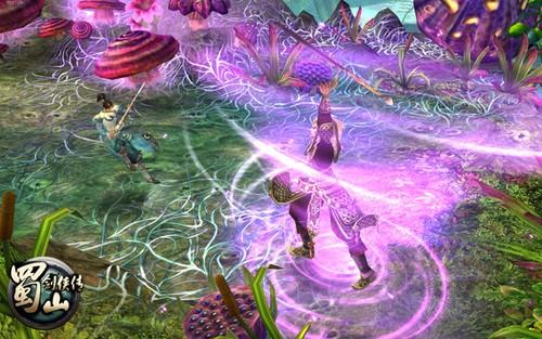 游戏将光怪陆离的仙侠世界与激情四溢的横版格斗完美融合,通过全球