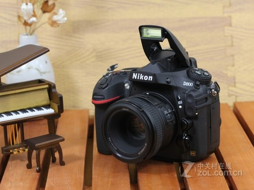 尼康 D800 外观图