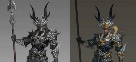 《斗战神》我们一起设计的神将的过程