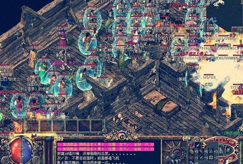 传奇3神舰地图陷阱
