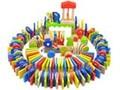 特宝儿大象创意多米诺骨牌玩具 益智玩具