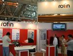 rofin展台