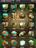 玛雅文化科幻风格主题