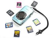 六款名牌8GB SDHC卡PK