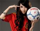世界杯足球宝贝侯芊浥