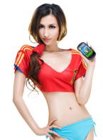 联想乐Phone与足球宝贝
