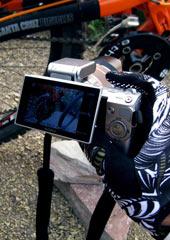 NEX-5C翻转屏拍摄