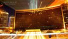 中国大饭店的绚丽灯火