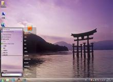 日本风景win7主题