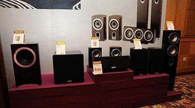 北京音响展:天朗TANNOY贵族系列音箱