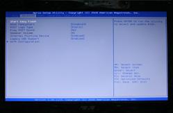 笔记本主板的BIOS设置界面