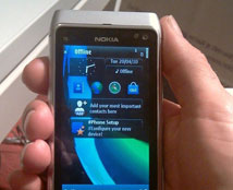 诺记Symbian^3真机N8试玩体验