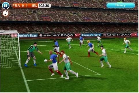 3D实况足球